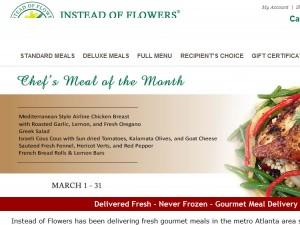Instead of Flowers Atlanta GA Caterers